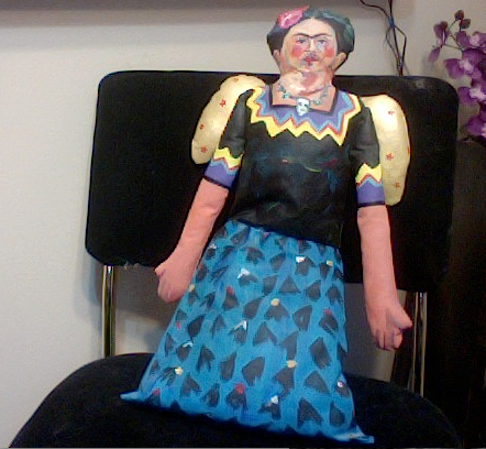 Frida over for tea party II