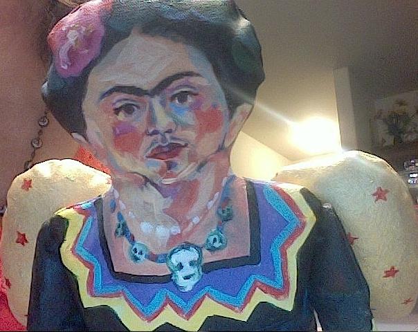 Frida's face II